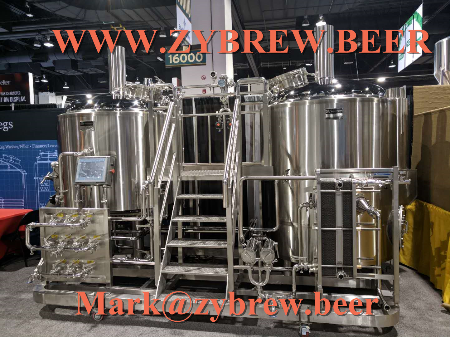 7bbl two vessel Brew House