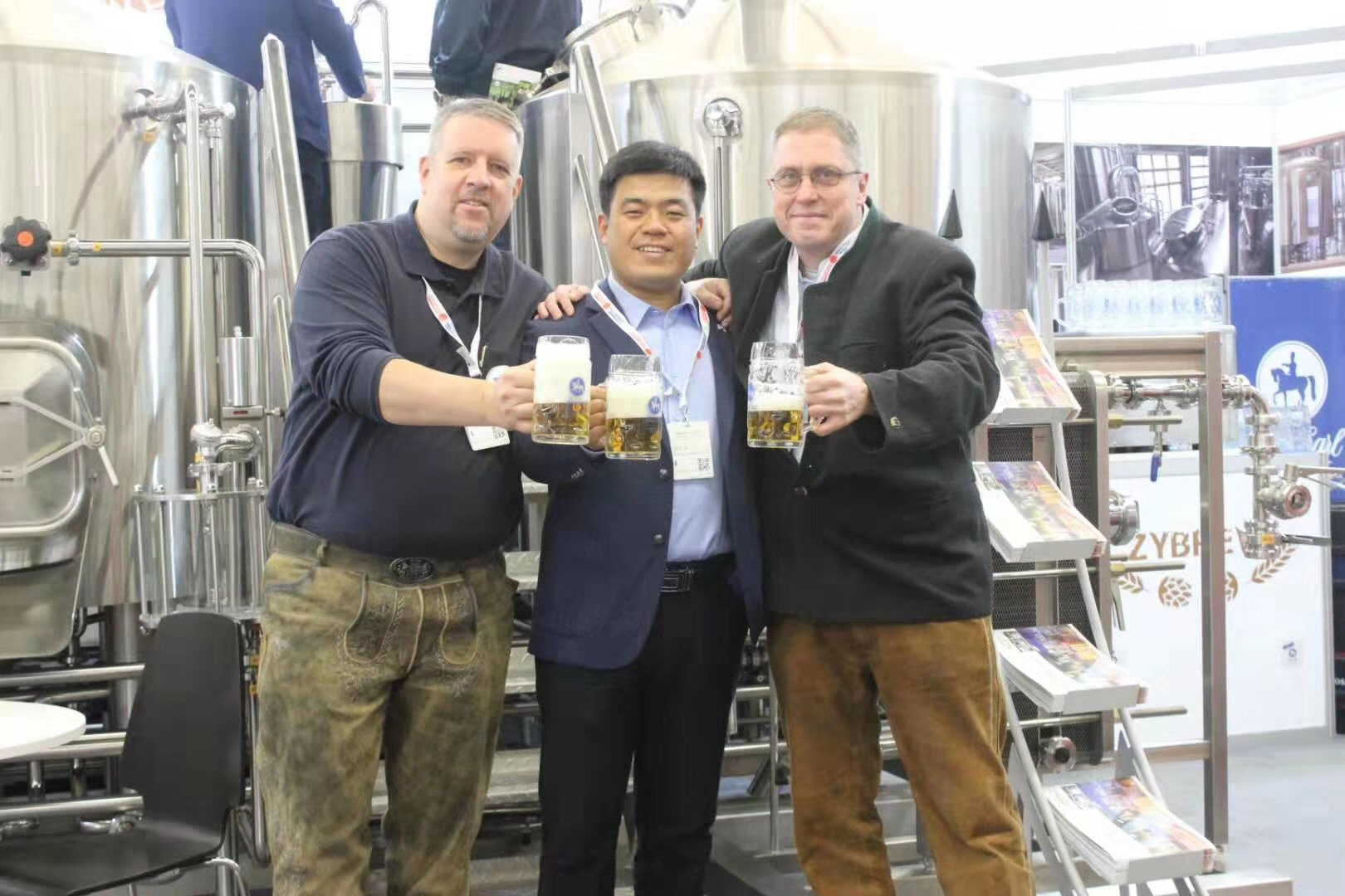 ZYBREW team had a great and fruitful exhibition in Brau Beviale 2019.