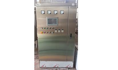 Control unit: PLC