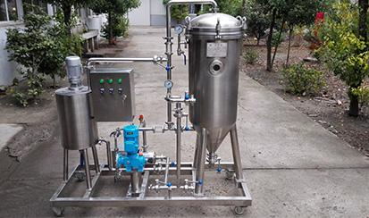 5000L/h Candle type diatomite filter