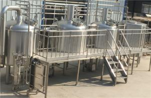 10HL Brewery system for Braukraft in Germany ready for shipment