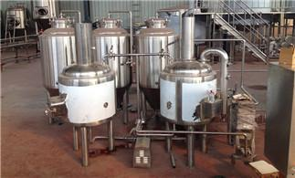 The Complete System of Beer Equipment (A)