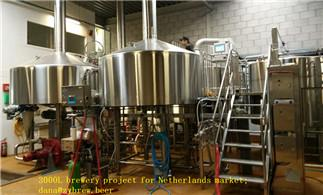 3000L Brewery for Netherlands