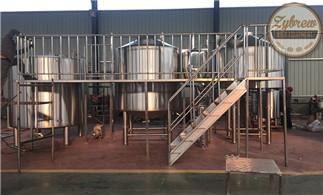 The 20HL Brewery System for Canada Clients