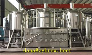 High Configuration 500L Brewhouse
