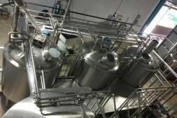 1000L Three Vessel Brew House
