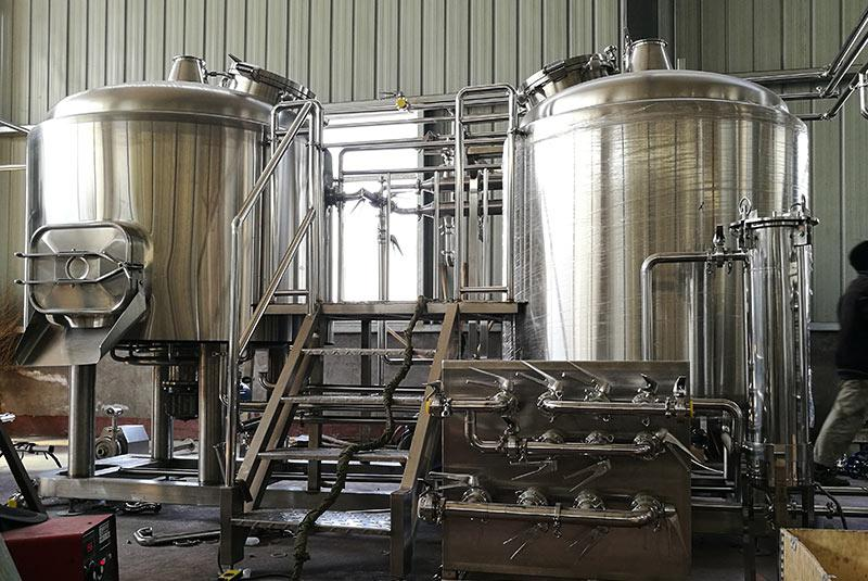 1500L Three Vessel Brew House