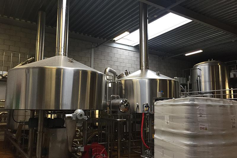 3000L 3-4 Vessel Brew House Manufacturer