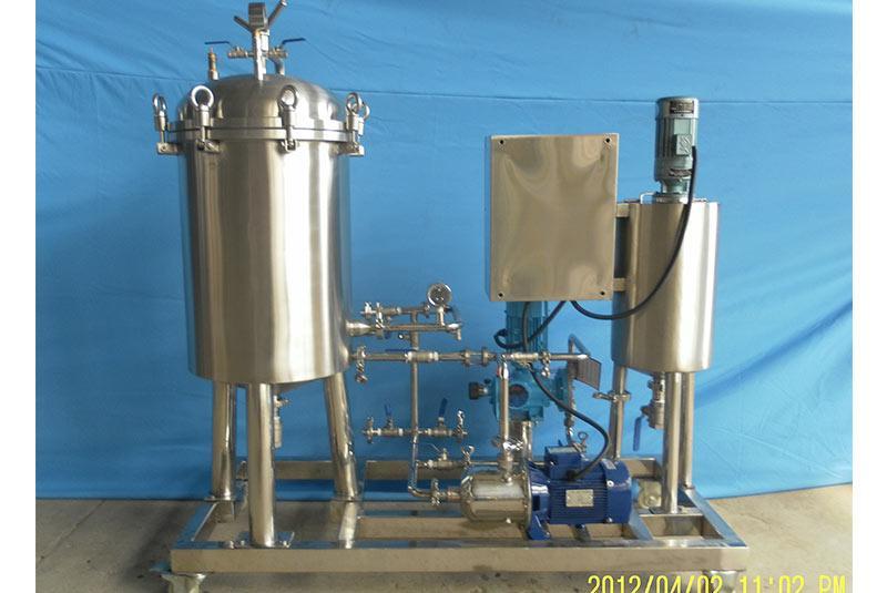 500L Vane Type Diatomite Filter