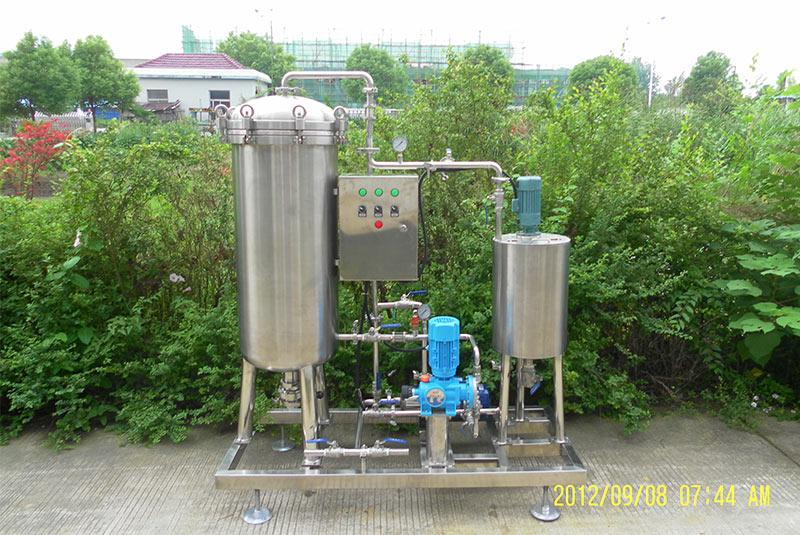 500L/h Candle Type Diatomite Filter