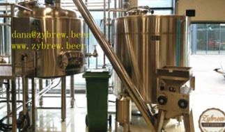 Introduction of 1000L Brewery System