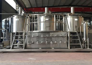 Australia client is satisfied with 100L brewery system