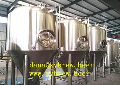 Zybrew produces different capacity fermenters