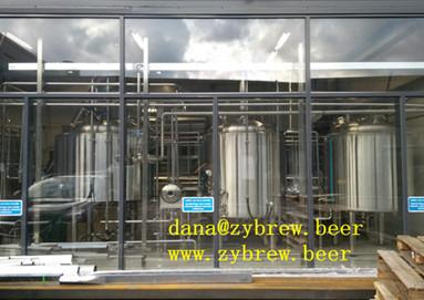 1000L brewery system installed in Finland