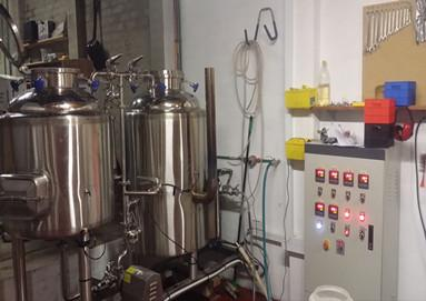 30HL brewery system for our Netherlands clients