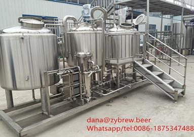 300L whole brewer unit for Europe market