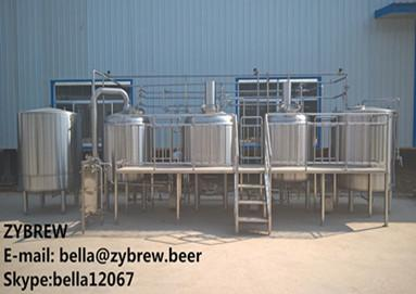Introduction to 1000L Three Vessel Brew House