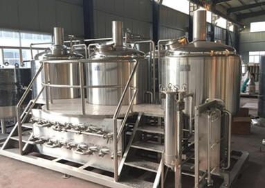 Our Australia client ordered 100L brewery system