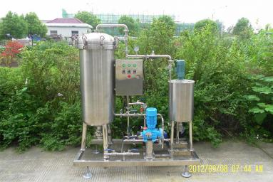 Information About Beer Filtration Unit
