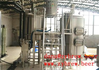 A Whole 500L Brewery System
