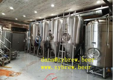 A 15BBL Brewery System We Installed In Texas,USA