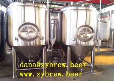 a 2000l Brewery System We Produced For Romania Market
