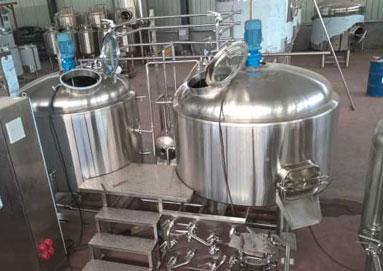 Basic Configuration Of 10HL Micro Brewery