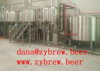20HL Brewery System We Install In Kosovo