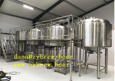 Brew House Installed In North Europe