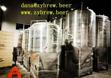 2000L Brewery System Installed In Romania