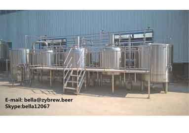 How Does 10HL Three Vessel Brew House  Work?