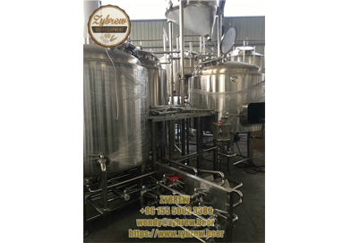 Complete 10BBL Micro Brewery System In ZYBREW Factory