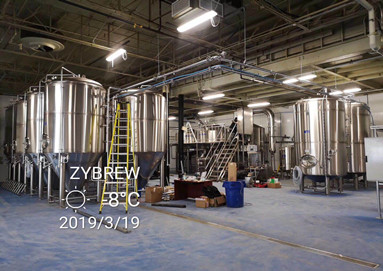 Another Excellent Project Of ZYBREW In North America