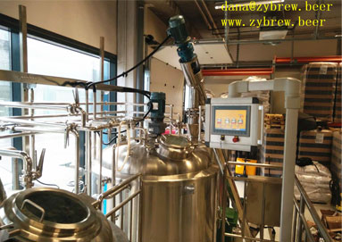 A 1000L Brewery System We Installed In Finland