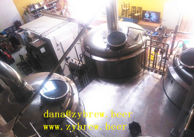 We Installed One 2000L Brewery System In Beaurainville