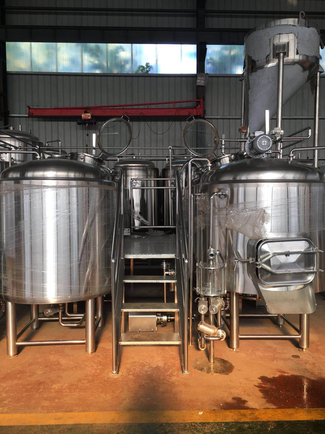 Four Vessel 10HL Brewhouse
