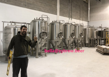 10BBL Brewery System for our Canada Clients