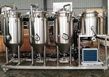What is the relationship between the quality of the brewing equipment and the wine?