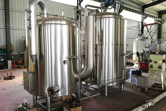 Gas Fired Brewhouse
