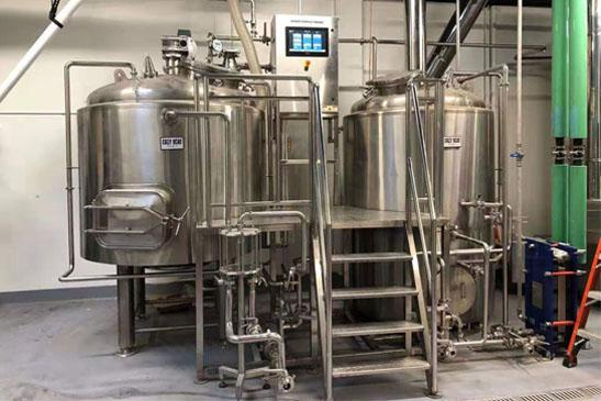 Traditional Two Vessel Brewhouse