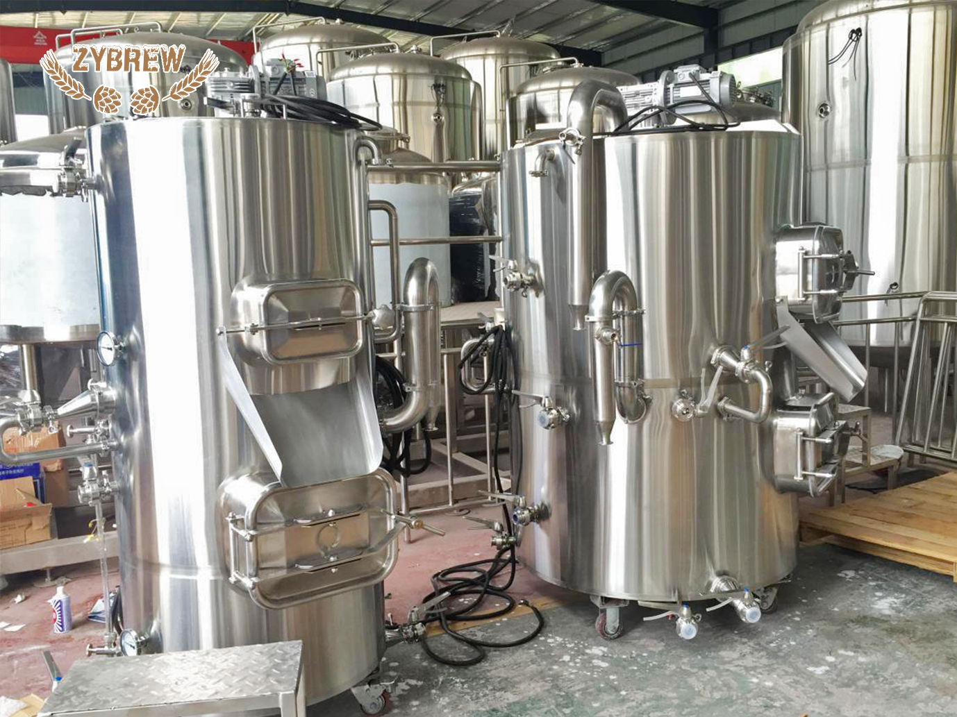 3BBL Brewtower Brewhouse