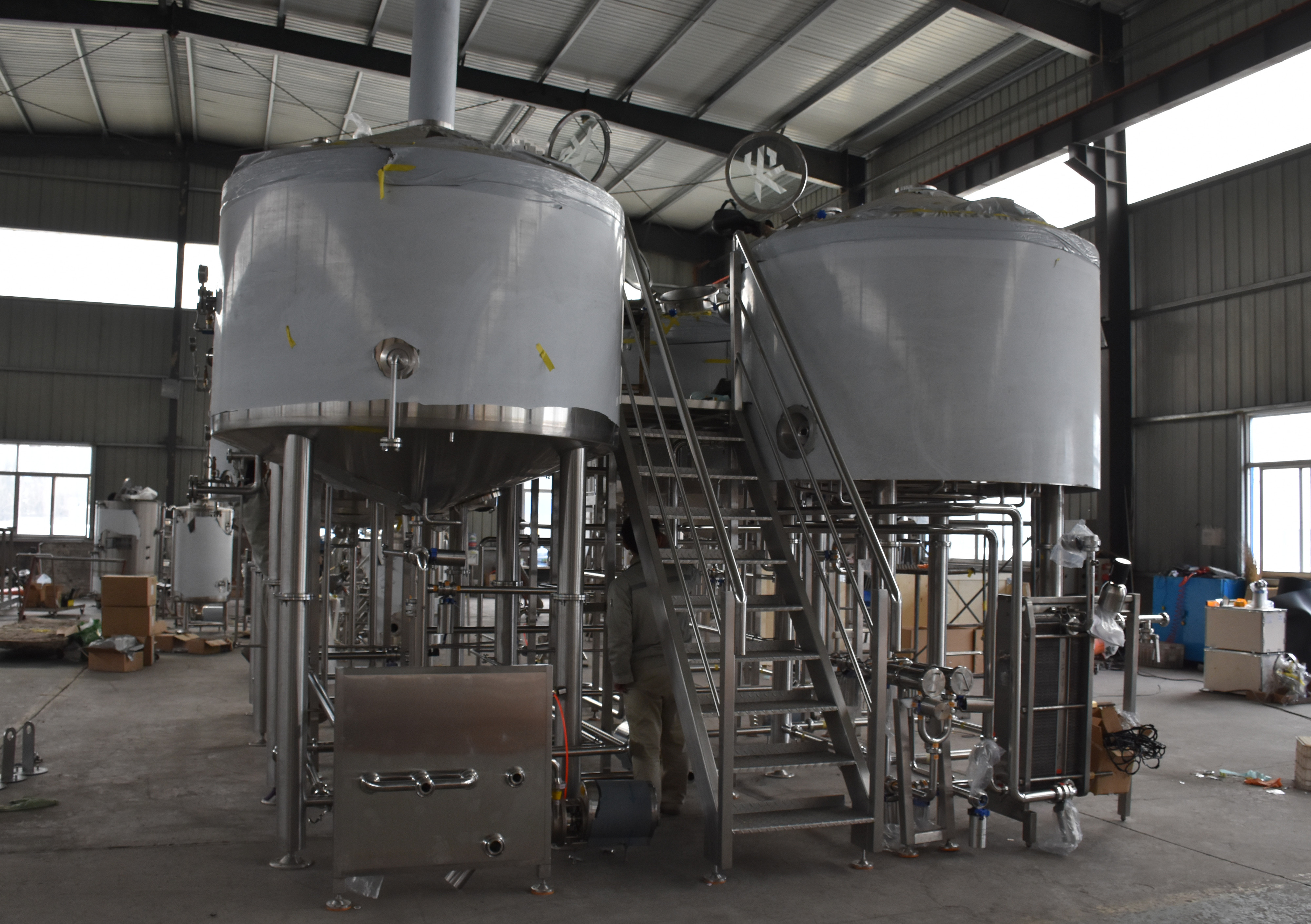 20HL four Brewhouse